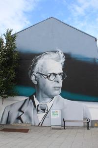 Yeats mural, Sligo.