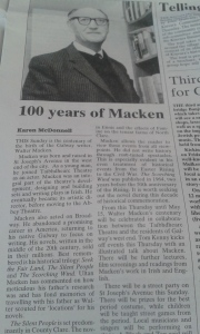 100 Years of Walter Macken