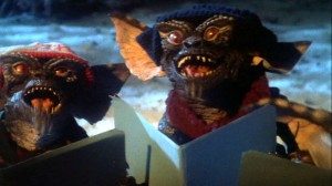 Gremlins messing with the music, Man!