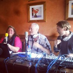 Me & Chris live from Gort, with Robin on the desk.