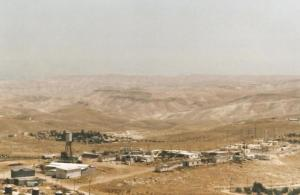 Nascent settlement seen from the slopes of Herodian, 2008. C. Karen McDonnell