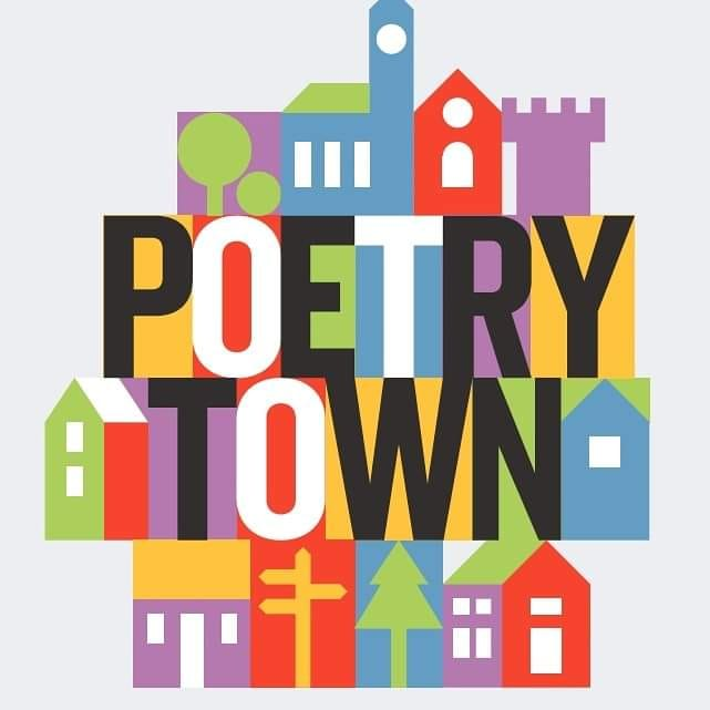 Poetry Town logo Sept 2021